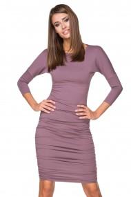 Violetas krāsas kleita