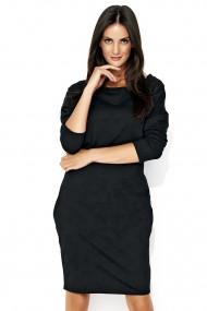 Melna, brīvā stila kleita