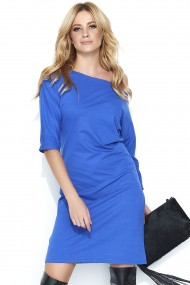 Zilas krāsas kleita