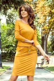 13-112 Sporty dress - honey