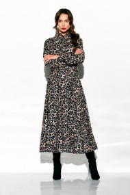 Kleita ar leoparda raksta