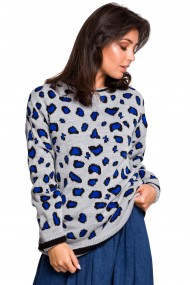 Tumši zils džemperis