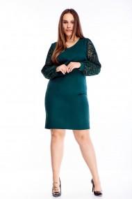 Zaļa, eleganta kleita