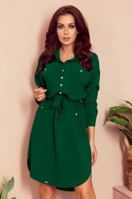 258-2 BROOKE Shirt dress - green