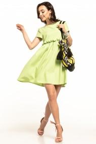 Tumši zaļa kleita