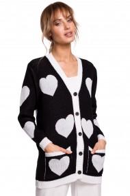 Melns-pelēks džemperis