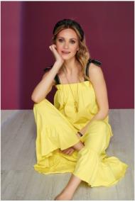 Dzeltena, gara kleita