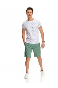 Vīriešu krekls ar īsām piedurknēm SPO4737 G