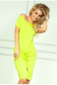 Sporty dress - NEON Lemon 56-3