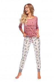 Piżama Kylie SAL-PY-1118 Różowa