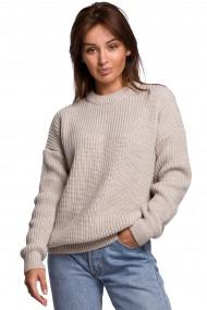 Gaiši brūns džemperis