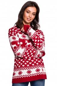 Sarkans džemperis