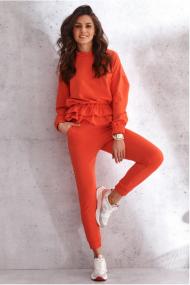 Oranžas krāsas, divdaļīgs komplekts