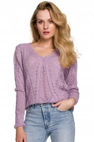 Krējuma krāsas džemperis