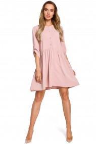 Rozā, sievišķīga kleita
