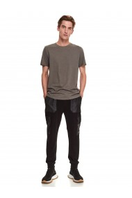 Vīriešu krekls ar īsām piedurknēm SPO5299 G