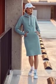 Gaiši zila kleita