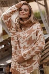 Melns-balts džemperis