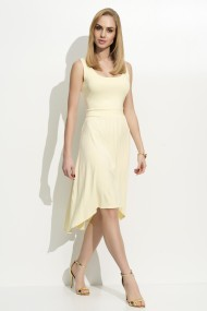 Gaiši dzeltena kleita