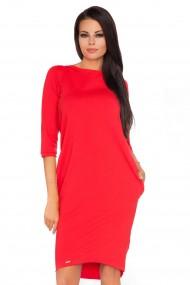Sarkana, pievilcīga kleita
