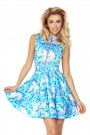 dress - Small blue flowers 123-13
