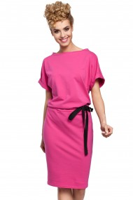 Koši rozā kleita